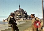 Image of War correspondents visiting Mont Saint Michel and Saint Malo France, 1944, second 27 stock footage video 65675020912