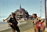 Image of War correspondents visiting Mont Saint Michel and Saint Malo France, 1944, second 28 stock footage video 65675020912