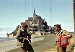 Image of War correspondents visiting Mont Saint Michel and Saint Malo France, 1944, second 31 stock footage video 65675020912
