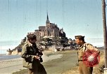 Image of War correspondents visiting Mont Saint Michel and Saint Malo France, 1944, second 32 stock footage video 65675020912