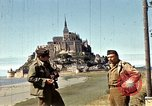 Image of War correspondents visiting Mont Saint Michel and Saint Malo France, 1944, second 33 stock footage video 65675020912