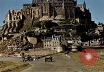 Image of War correspondents visiting Mont Saint Michel and Saint Malo France, 1944, second 36 stock footage video 65675020912