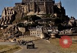 Image of War correspondents visiting Mont Saint Michel and Saint Malo France, 1944, second 38 stock footage video 65675020912