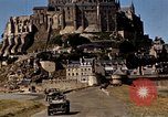 Image of War correspondents visiting Mont Saint Michel and Saint Malo France, 1944, second 39 stock footage video 65675020912