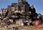 Image of War correspondents visiting Mont Saint Michel and Saint Malo France, 1944, second 42 stock footage video 65675020912