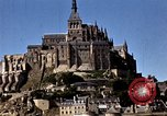 Image of War correspondents visiting Mont Saint Michel and Saint Malo France, 1944, second 46 stock footage video 65675020912
