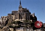 Image of War correspondents visiting Mont Saint Michel and Saint Malo France, 1944, second 47 stock footage video 65675020912