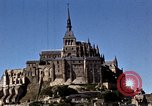 Image of War correspondents visiting Mont Saint Michel and Saint Malo France, 1944, second 49 stock footage video 65675020912