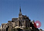 Image of War correspondents visiting Mont Saint Michel and Saint Malo France, 1944, second 51 stock footage video 65675020912