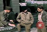Image of war correspondents Rampieux France, 1944, second 28 stock footage video 65675020914