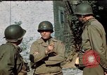 Image of 3rd Armored Division with French children Ardennes France, 1944, second 18 stock footage video 65675020918