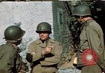 Image of 3rd Armored Division with French children Ardennes France, 1944, second 19 stock footage video 65675020918