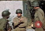 Image of 3rd Armored Division with French children Ardennes France, 1944, second 20 stock footage video 65675020918