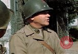 Image of 3rd Armored Division with French children Ardennes France, 1944, second 24 stock footage video 65675020918