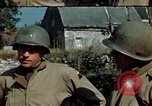 Image of 3rd Armored Division with French children Ardennes France, 1944, second 30 stock footage video 65675020918