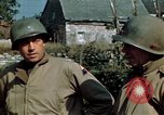 Image of 3rd Armored Division with French children Ardennes France, 1944, second 32 stock footage video 65675020918