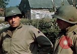 Image of 3rd Armored Division with French children Ardennes France, 1944, second 33 stock footage video 65675020918