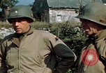 Image of 3rd Armored Division with French children Ardennes France, 1944, second 36 stock footage video 65675020918
