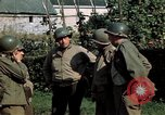 Image of 3rd Armored Division with French children Ardennes France, 1944, second 39 stock footage video 65675020918