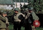 Image of 3rd Armored Division with French children Ardennes France, 1944, second 40 stock footage video 65675020918