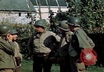 Image of 3rd Armored Division with French children Ardennes France, 1944, second 41 stock footage video 65675020918