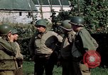 Image of 3rd Armored Division with French children Ardennes France, 1944, second 42 stock footage video 65675020918