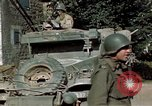 Image of 3rd Armored Division with French children Ardennes France, 1944, second 43 stock footage video 65675020918