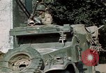 Image of 3rd Armored Division with French children Ardennes France, 1944, second 44 stock footage video 65675020918