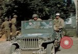 Image of 3rd Armored Division with French children Ardennes France, 1944, second 49 stock footage video 65675020918