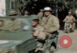 Image of 3rd Armored Division with French children Ardennes France, 1944, second 50 stock footage video 65675020918