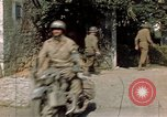 Image of 3rd Armored Division with French children Ardennes France, 1944, second 52 stock footage video 65675020918