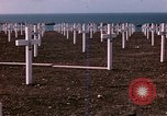 Image of First American military cemetery in Normandy Normandy France, 1944, second 14 stock footage video 65675020920