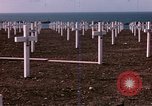 Image of First American military cemetery in Normandy Normandy France, 1944, second 15 stock footage video 65675020920