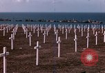 Image of First American military cemetery in Normandy Normandy France, 1944, second 17 stock footage video 65675020920