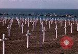 Image of First American military cemetery in Normandy Normandy France, 1944, second 18 stock footage video 65675020920