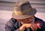 Image of Old men San Francisco California USA, 1967, second 24 stock footage video 65675020967