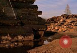 Image of log piles California United States USA, 1967, second 4 stock footage video 65675020971