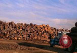 Image of log piles California United States USA, 1967, second 8 stock footage video 65675020971