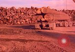 Image of log piles California United States USA, 1967, second 31 stock footage video 65675020971
