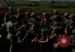 Image of Fourth Infantry Division Indoctrination Camp Enari Vietnam, 1967, second 3 stock footage video 65675021018