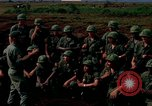 Image of Fourth Infantry Division Indoctrination Camp Enari Vietnam, 1967, second 4 stock footage video 65675021018
