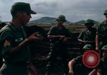 Image of Fourth Infantry Division Indoctrination Camp Enari Vietnam, 1967, second 13 stock footage video 65675021018