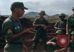 Image of Fourth Infantry Division Indoctrination Camp Enari Vietnam, 1967, second 14 stock footage video 65675021018
