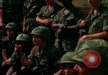 Image of Fourth Infantry Division Indoctrination Camp Enari Vietnam, 1967, second 34 stock footage video 65675021018