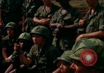 Image of Fourth Infantry Division Indoctrination Camp Enari Vietnam, 1967, second 35 stock footage video 65675021018