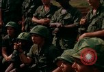 Image of Fourth Infantry Division Indoctrination Camp Enari Vietnam, 1967, second 36 stock footage video 65675021018