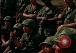 Image of Fourth Infantry Division Indoctrination Camp Enari Vietnam, 1967, second 37 stock footage video 65675021018