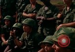 Image of Fourth Infantry Division Indoctrination Camp Enari Vietnam, 1967, second 38 stock footage video 65675021018