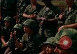 Image of Fourth Infantry Division Indoctrination Camp Enari Vietnam, 1967, second 39 stock footage video 65675021018