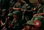 Image of Fourth Infantry Division Indoctrination Camp Enari Vietnam, 1967, second 40 stock footage video 65675021018